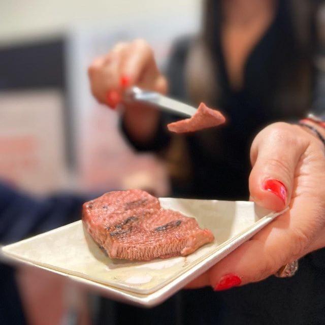 3D printed steak