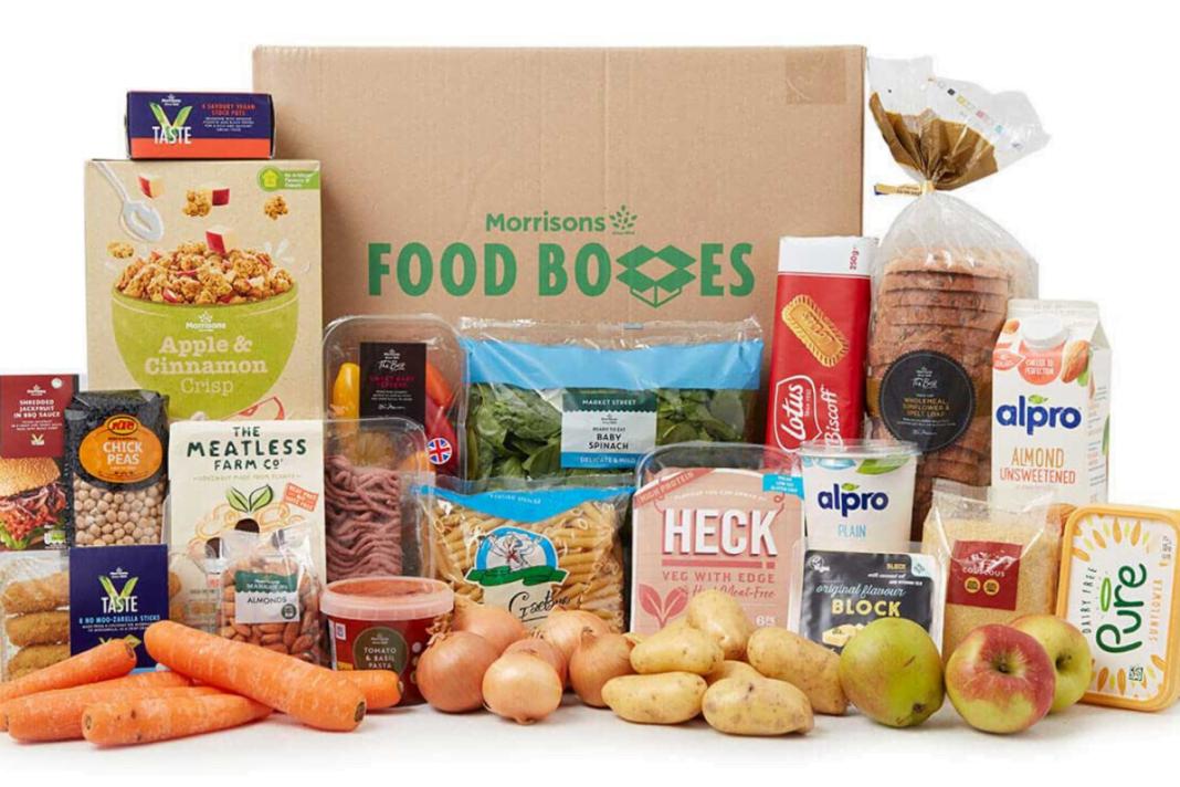 Morrisons Vegan Box