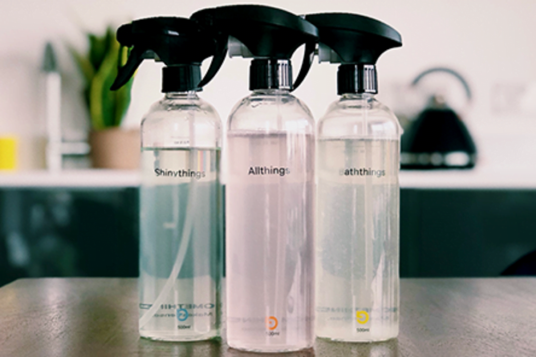 Homethings refillable cleaning bottles