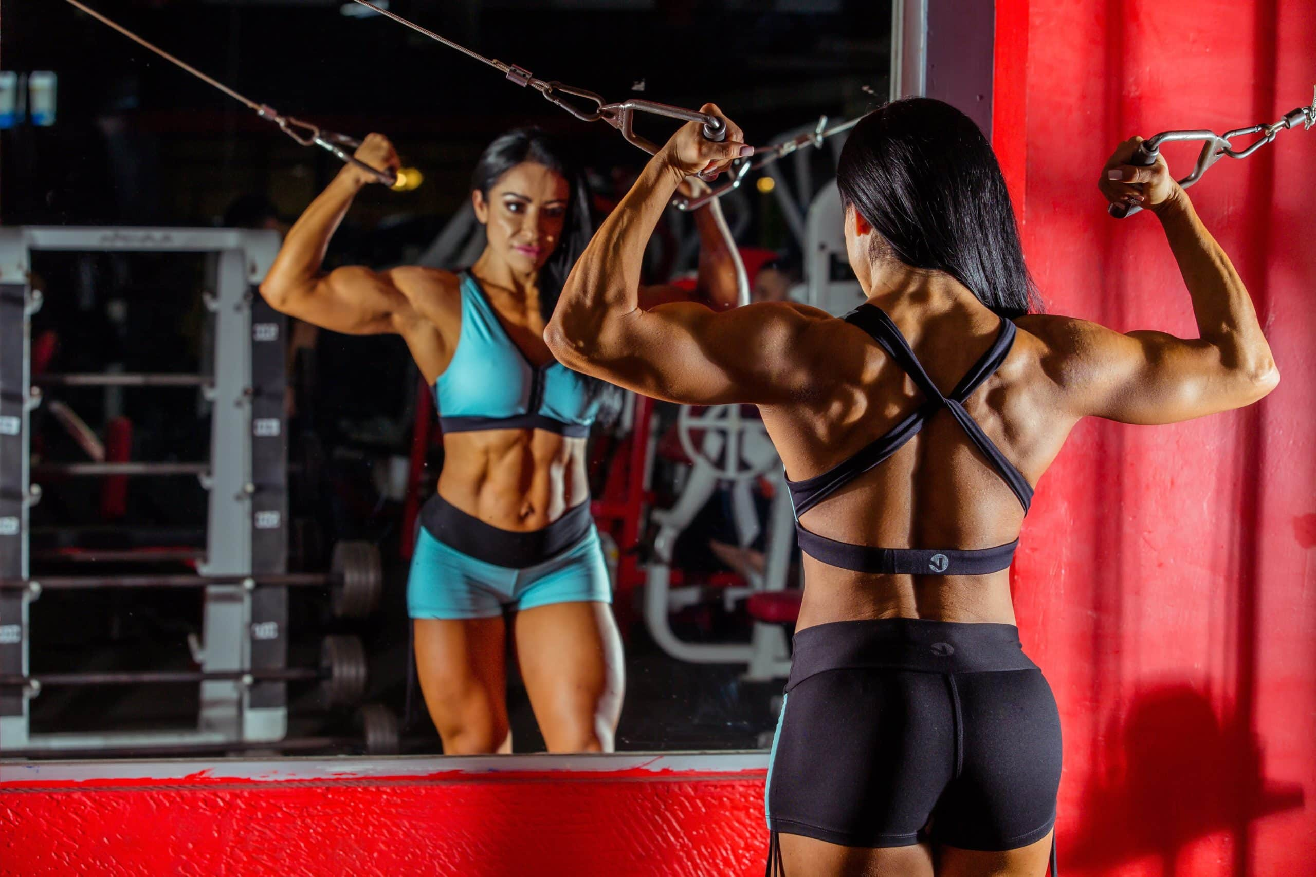 vegan and female bodybuilders