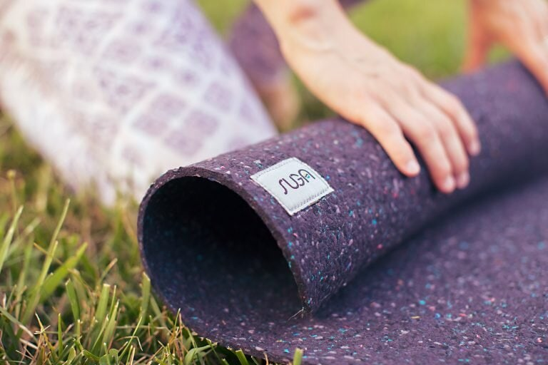 vegan recycled yoga mat vegan product US