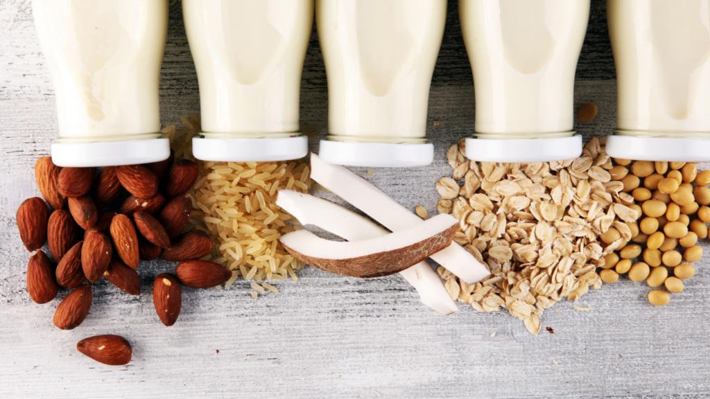 alternative milks vegan milk