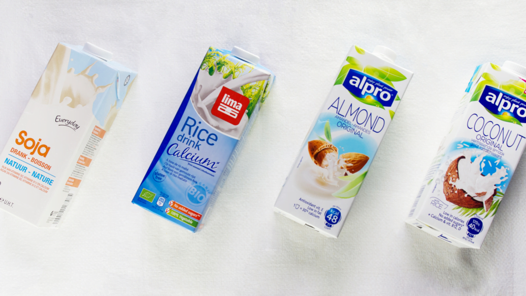 vegan alternative milks EU
