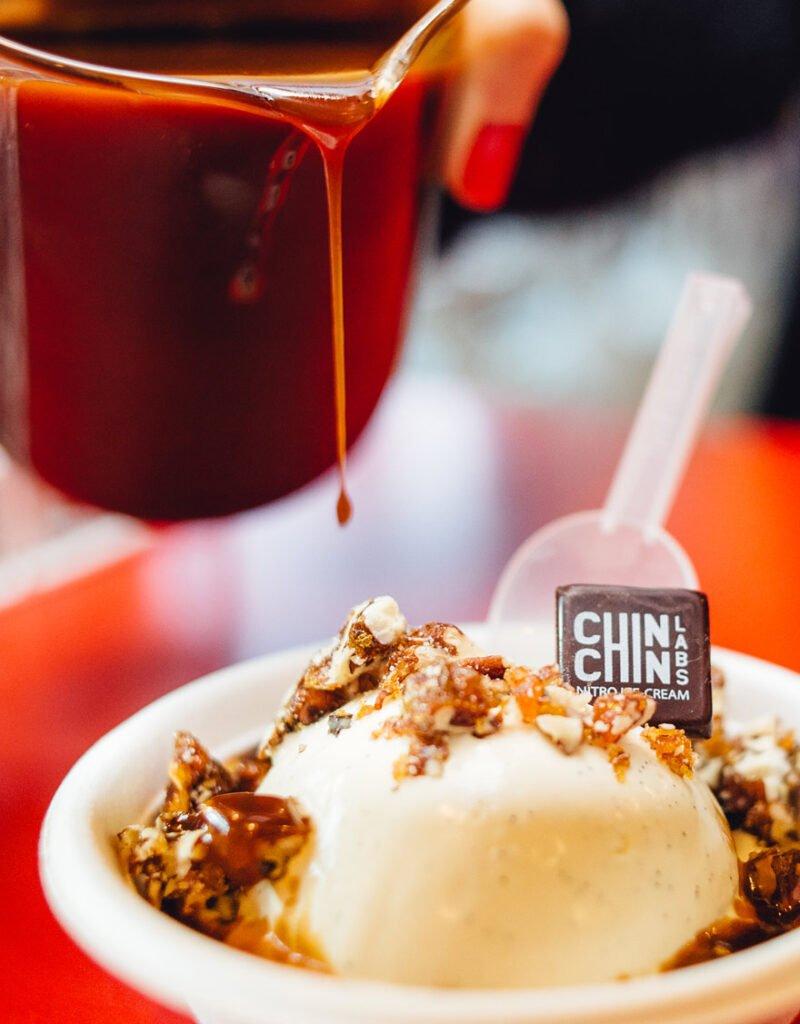 Chin Chin vegan Ice Cream