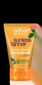 Alba Botanica Sunless Tanner Lotion
