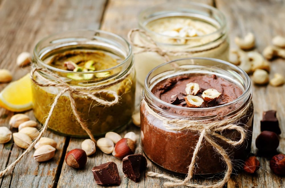 nut butters egg substitute