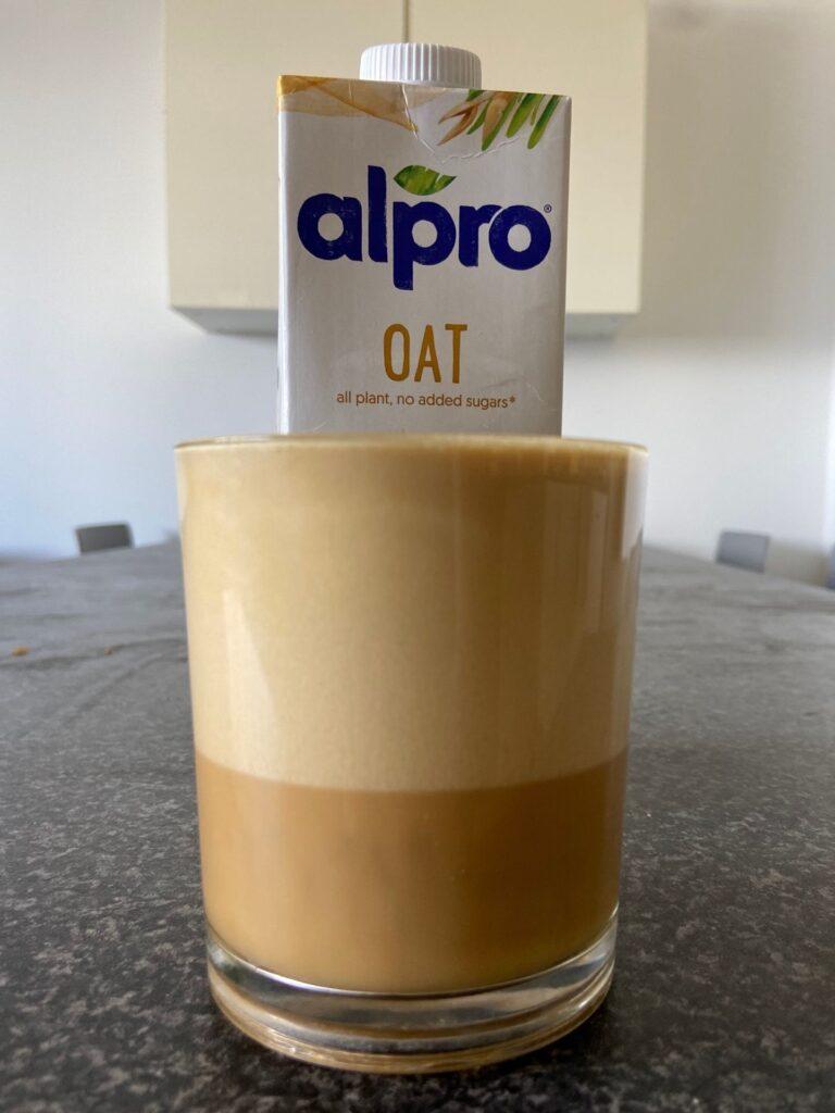 does alpro taste good in coffee