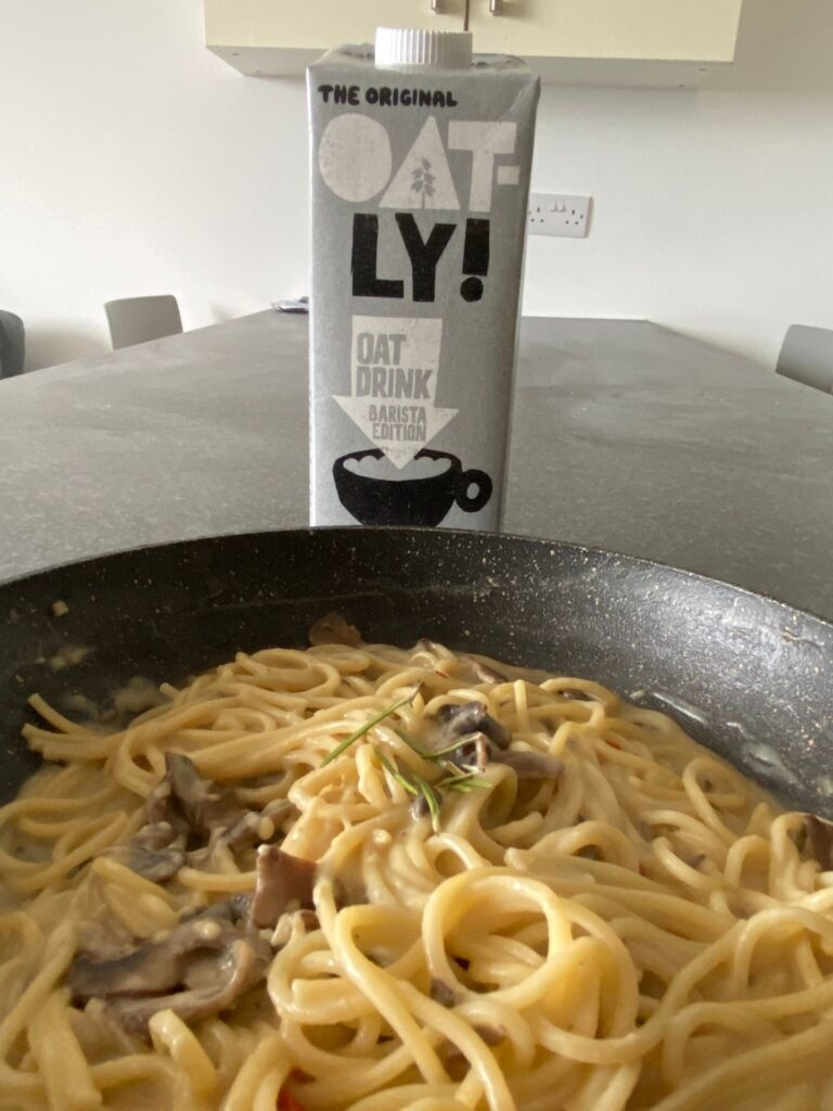 can i cook with oatly