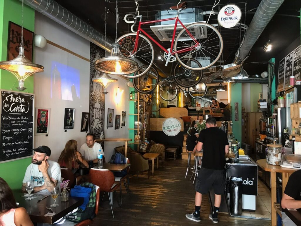 recyclo bike cafe