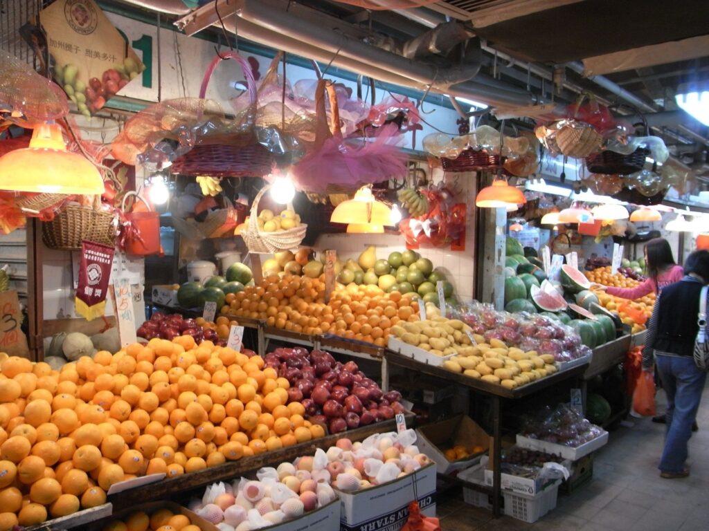 hong kong farmers market
