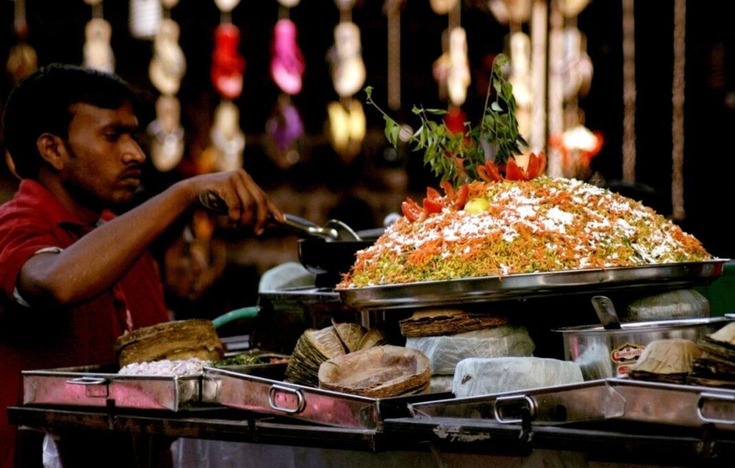 indian vegan street food