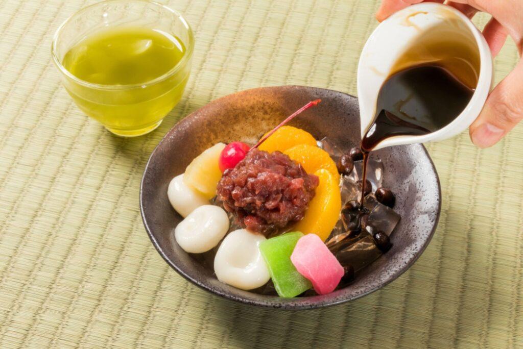 vegan wagashi