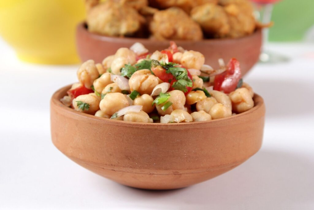 chickpea chaat
