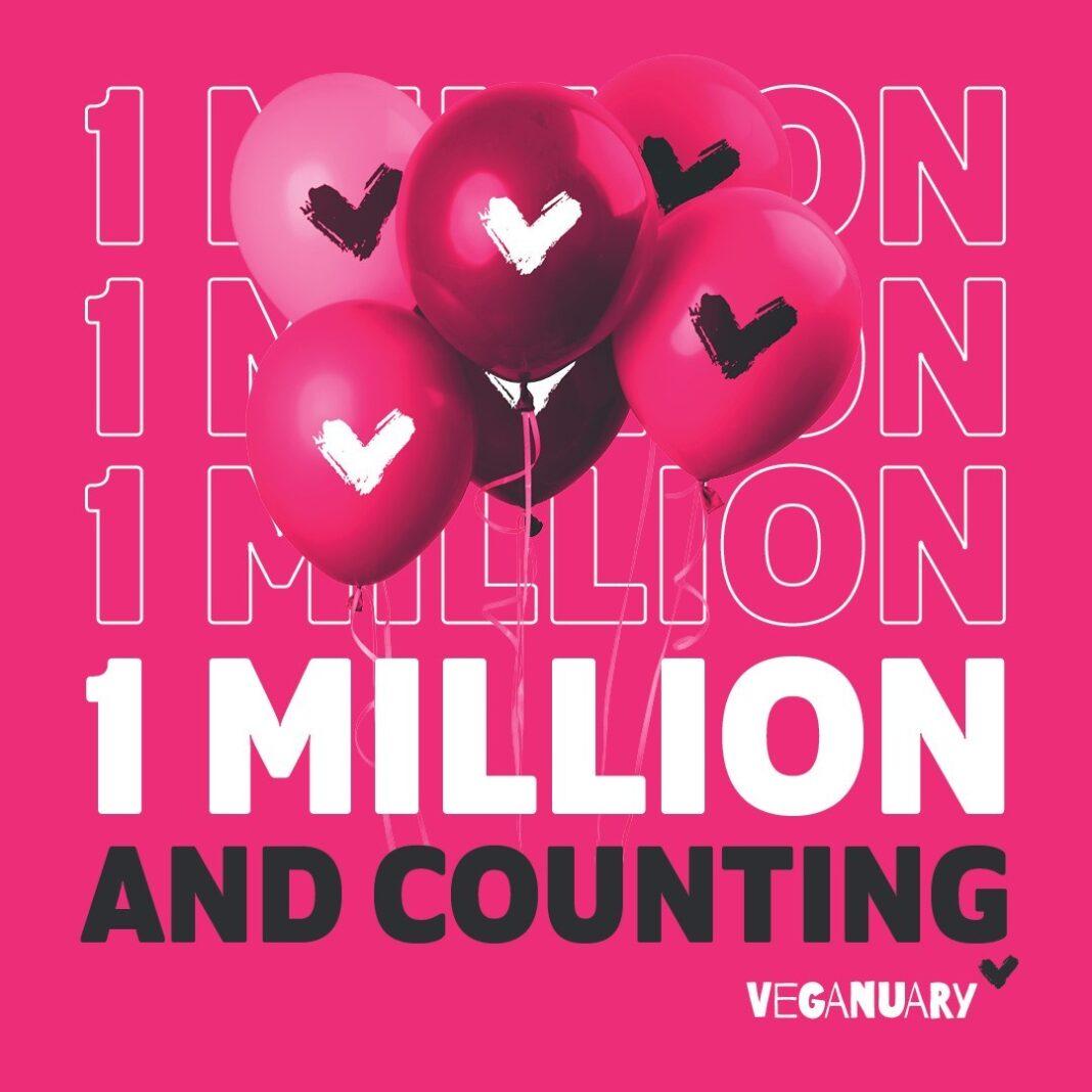 veganuary 1 million