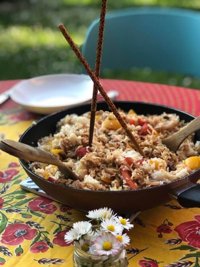 ottolenghi ginger fried rice