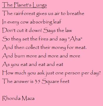 vegan poetry