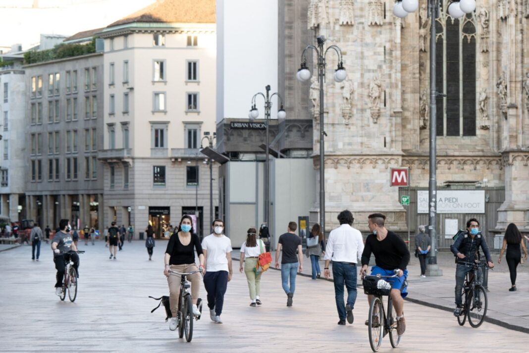 cycling lockdown