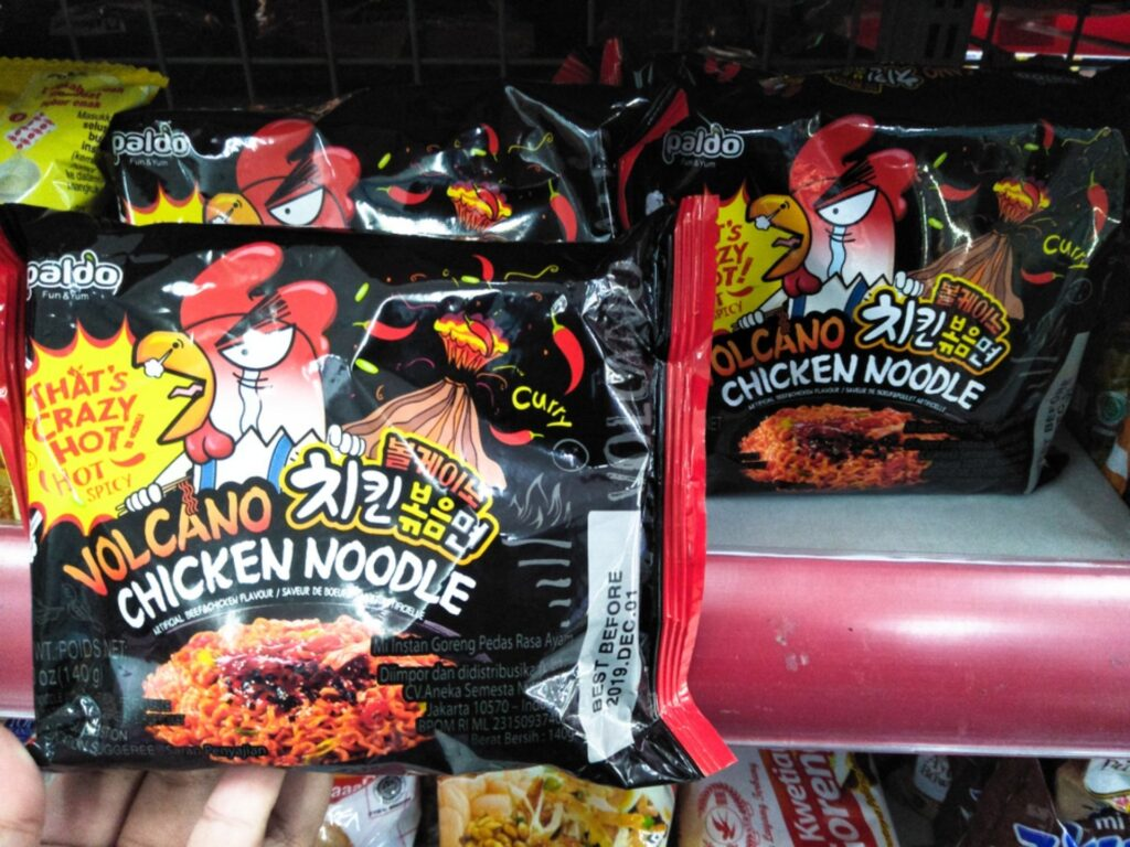 volcano chicken noodle