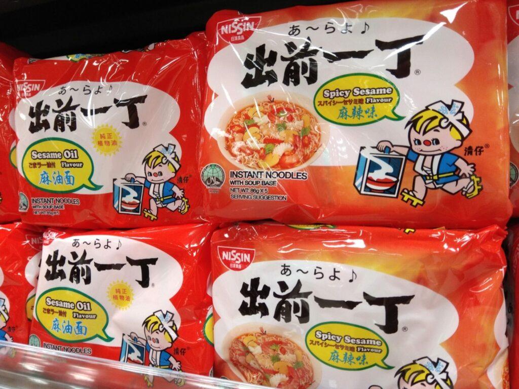 nissin noodles vegan
