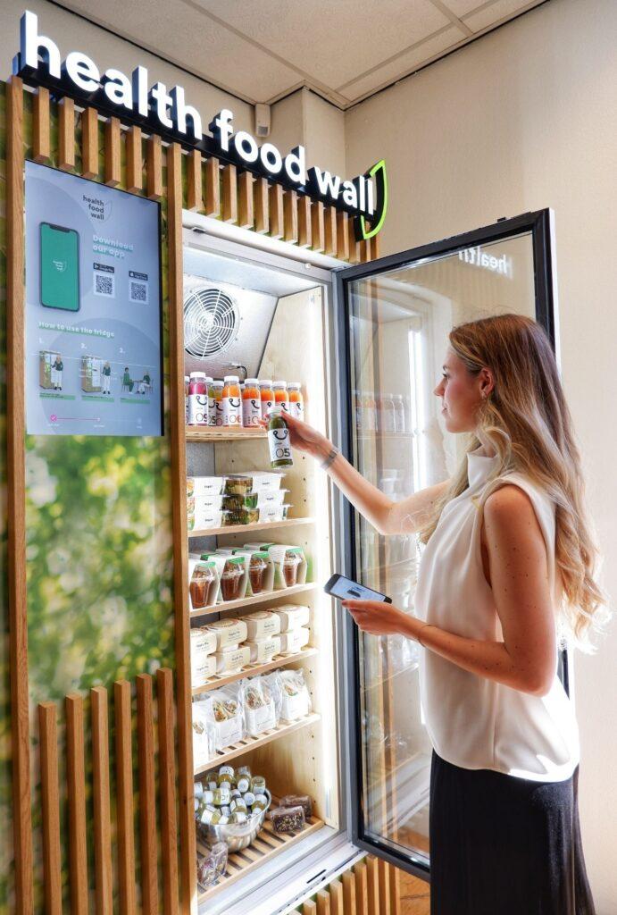 vegan fridge