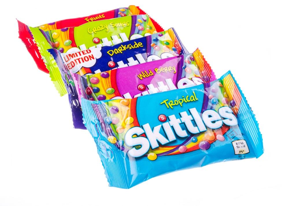 skittles carmine