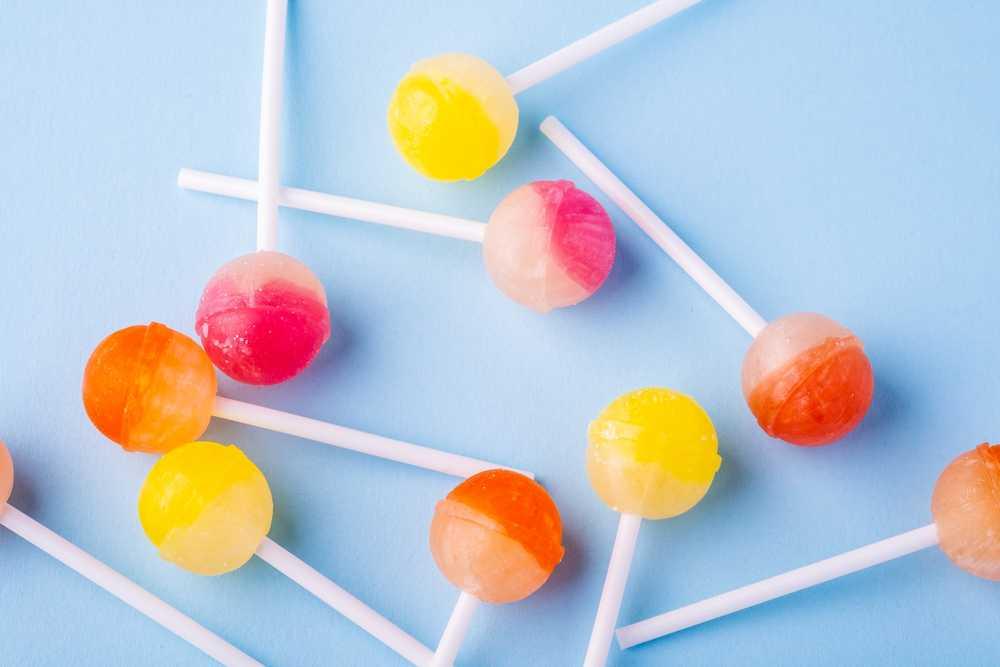 vegan lollipop