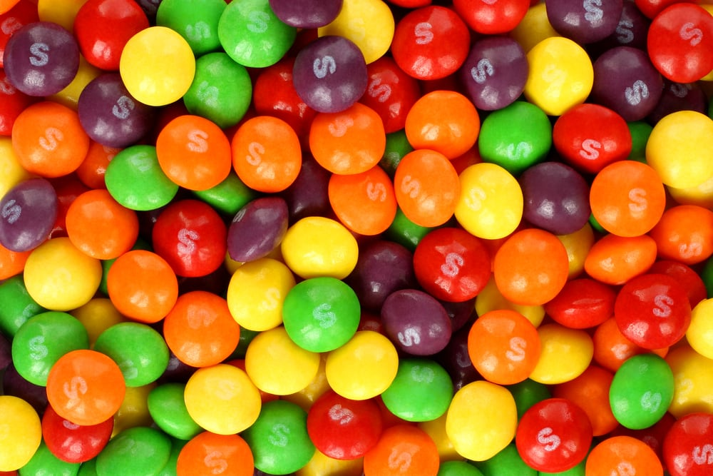 are skittles vegan