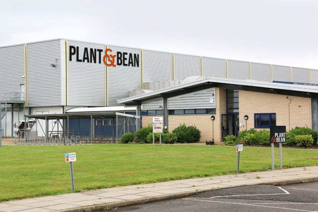 plant and bean