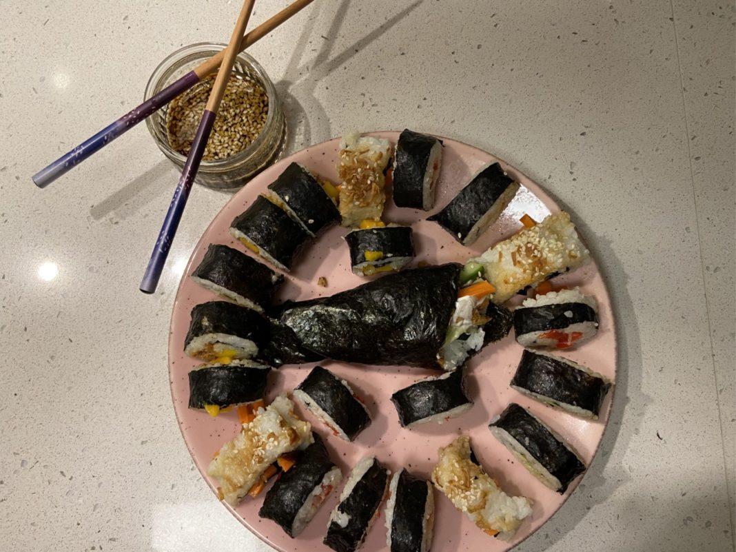 yo sushi vegan