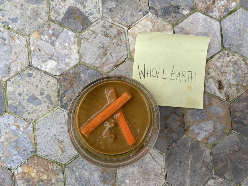 is whole earth peanut butter healthy
