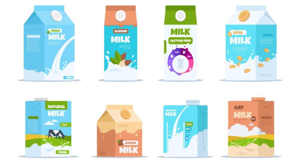 cow's milk vs plant milk