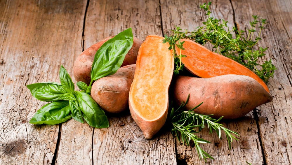 sweet potato beta carotene