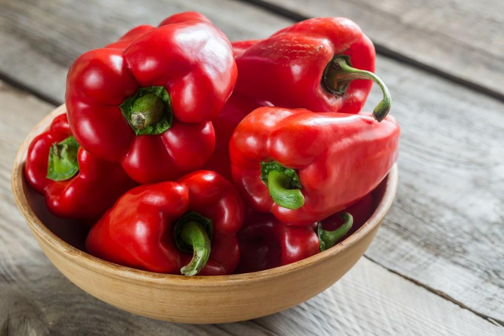 red bell pepper vitamin c