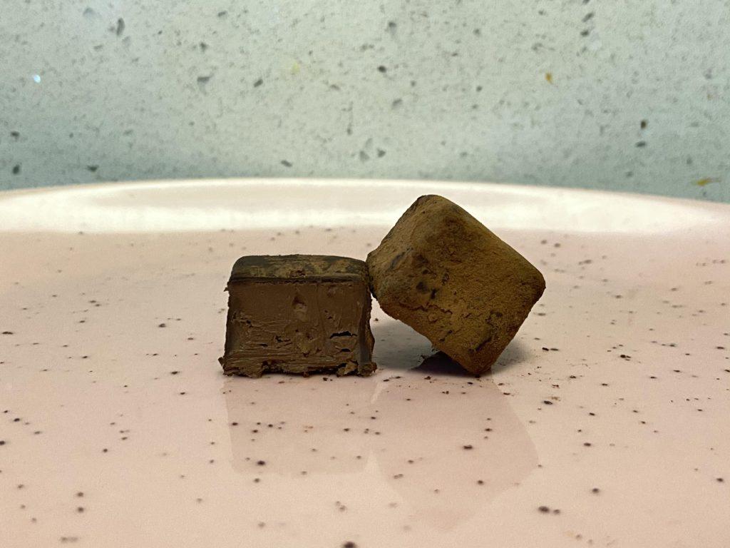 hazelnut crunch truffles