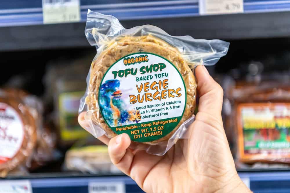 tofu burgers