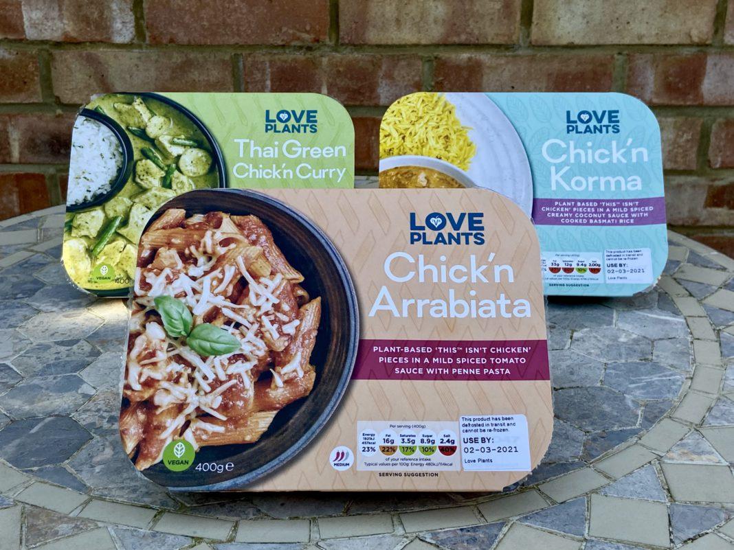 vegan ready meals uk