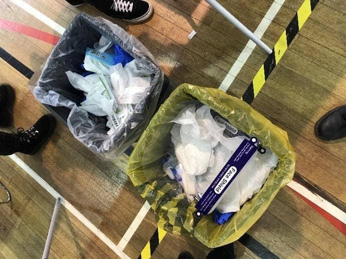 plastic pandemic pollution