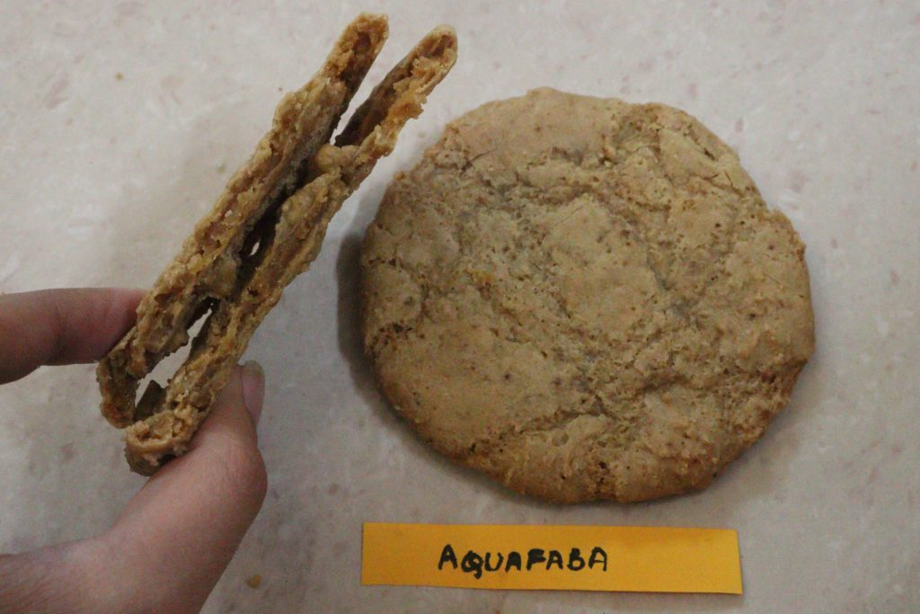 aquafaba cookies