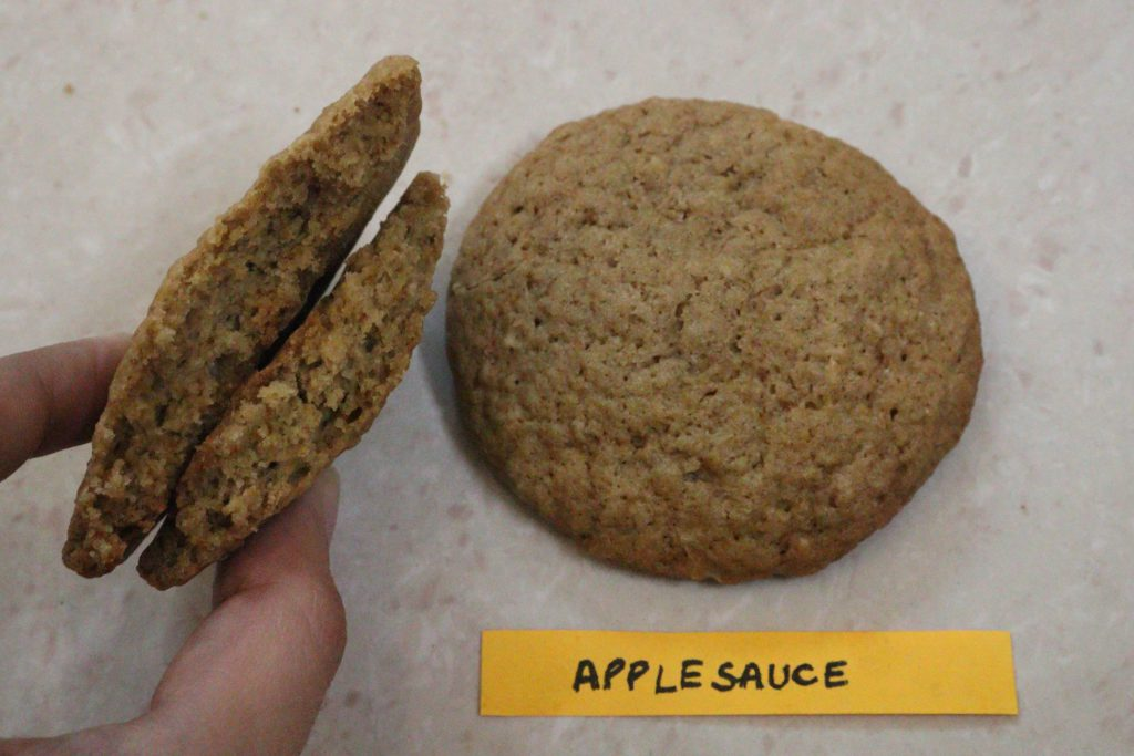 applesauce cookies vegan