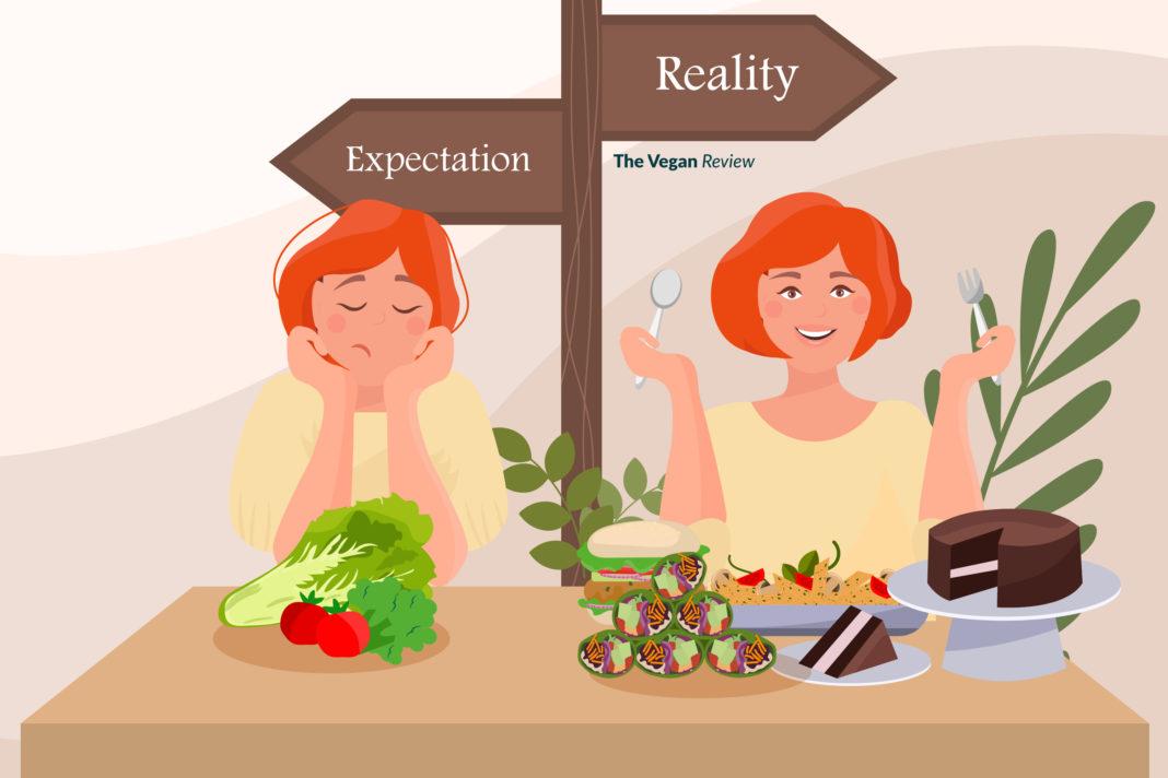 vegan expectation vs reality
