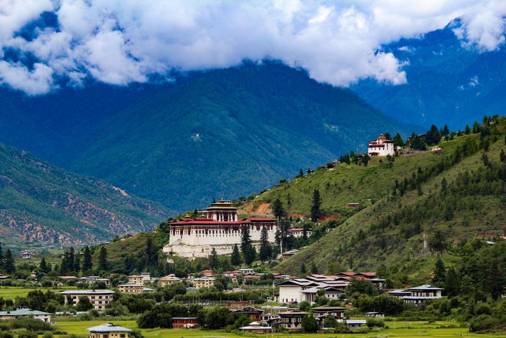 bhutan carbon negative