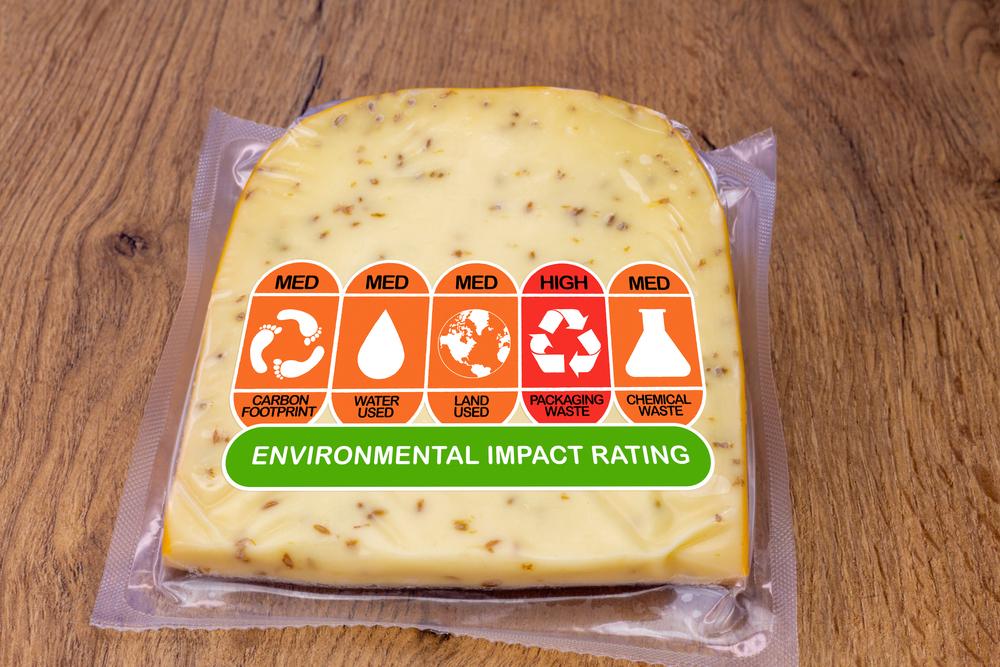 carbon footprint label