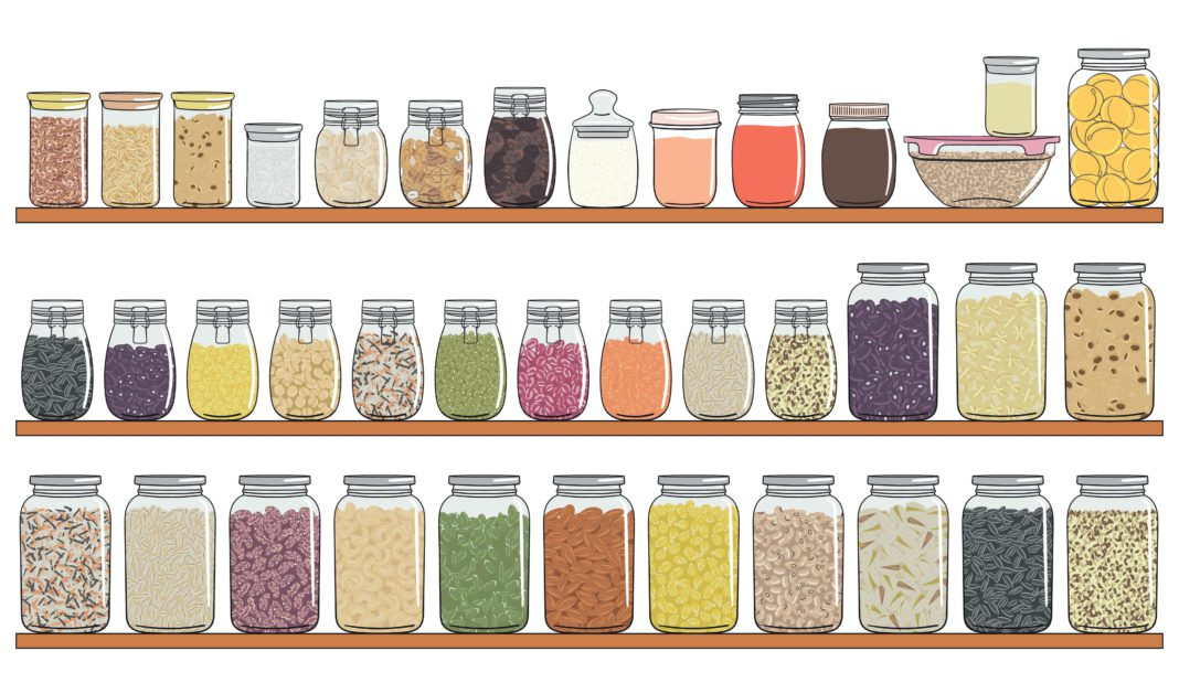 vegan pantry staples
