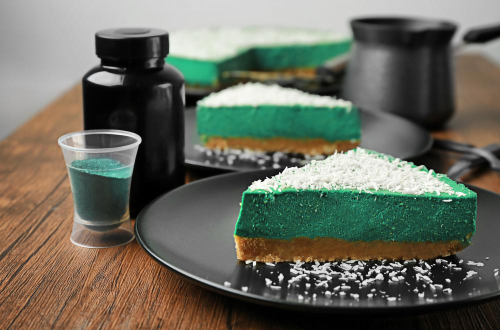 spirulina cheesecake