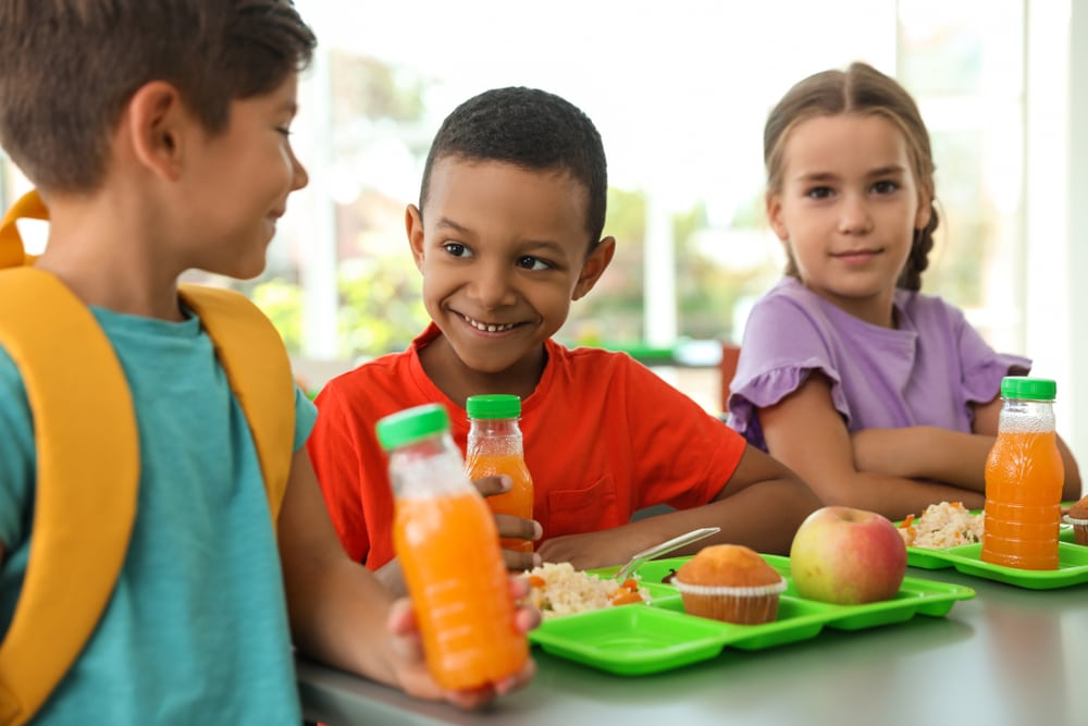 plant based school meals
