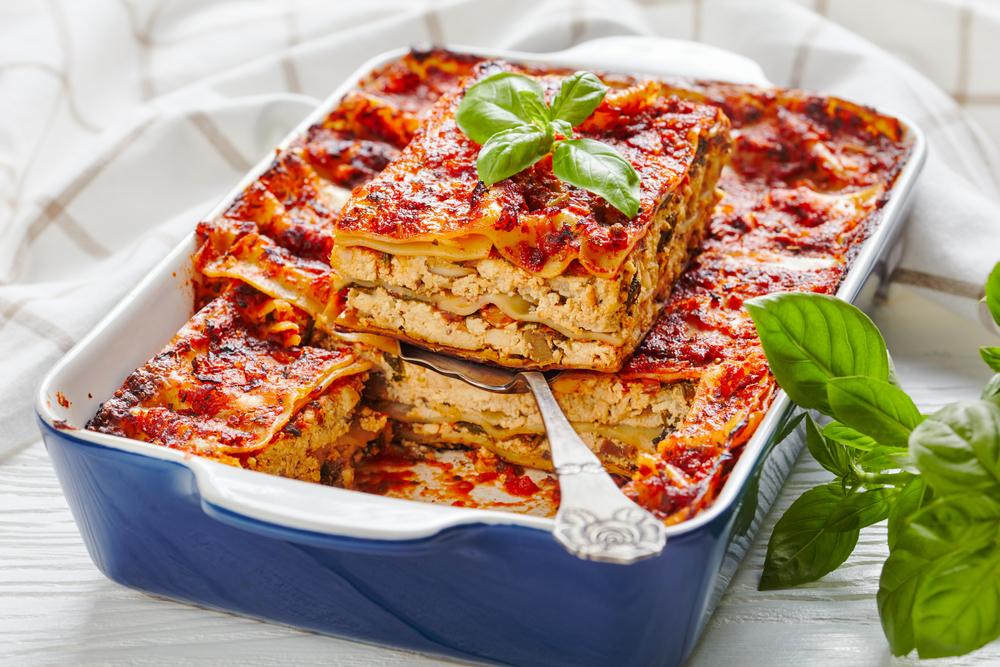 vegan lasagna bollognese