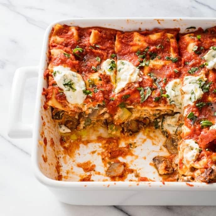 america's test kitchen vegan lasagna