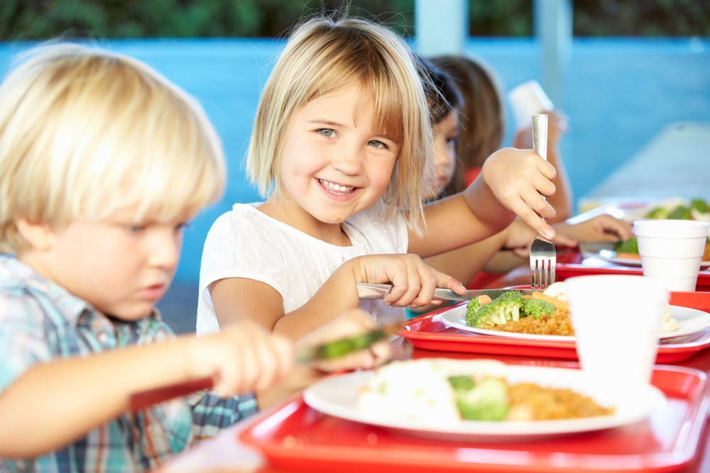 school meals plant based