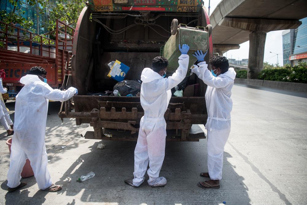 covid 19 waste management india