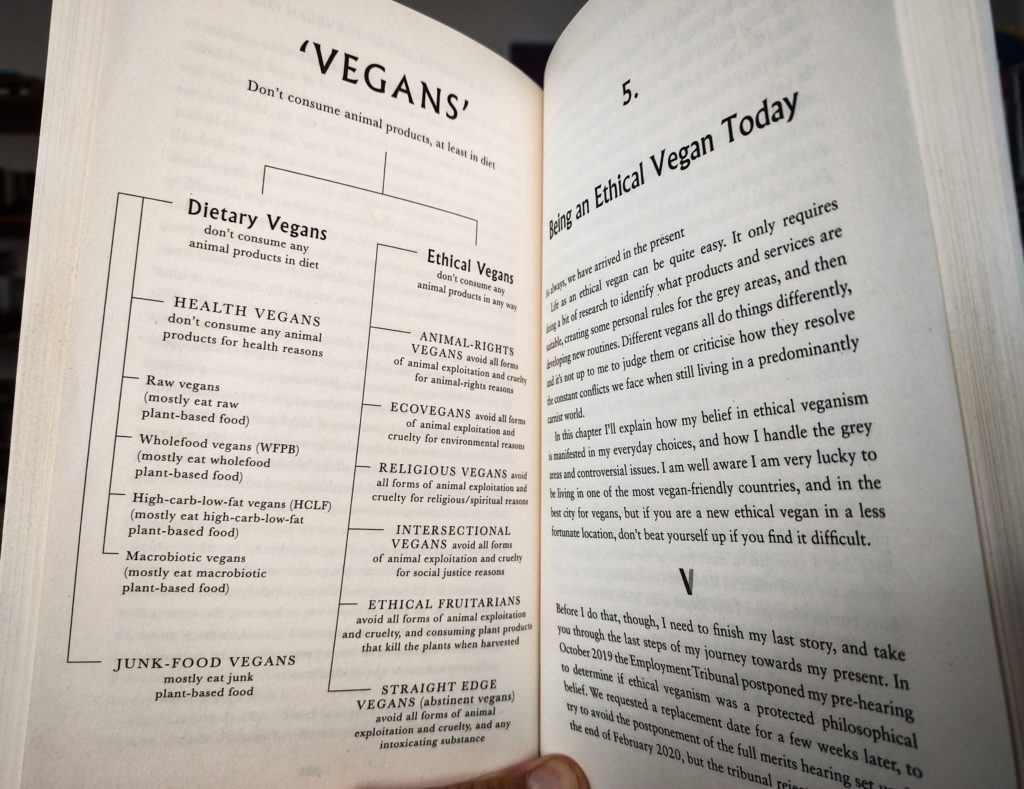 ethical vegan book